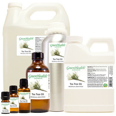 Tea Tree Essential Oil 100 Pure Many Sizes Free Shipping