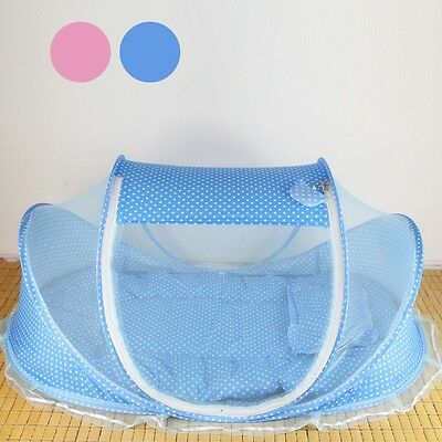 Infant Bed PinkBlue Outdoor Anti-Mosquito Beach Kid Tent Camping With Door