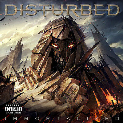 Disturbed - Immortalized New CD Explicit