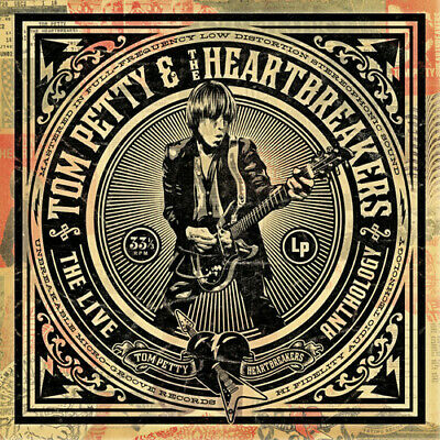 Tom Petty Tom Petty - the Heartbreakers - Live Anthology New CD