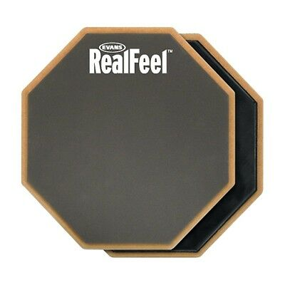 Evans RealFeel 2-Sided Speed and Workout Drum Pad Gray 12 in-