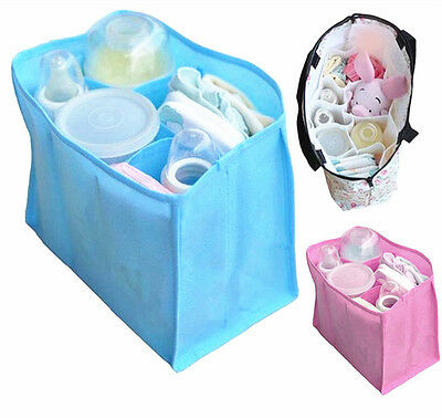 Popular Portable Baby Diaper Nappy Changing Organizer Insert Storage Bag Outdoor