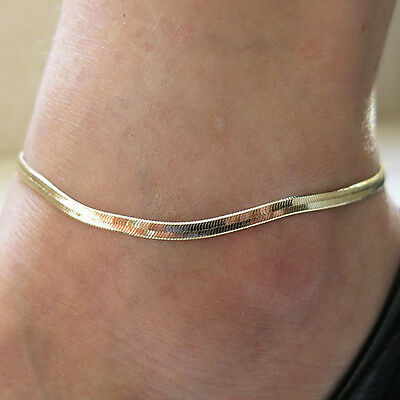 Fashion Womens Foot Jewelry Anklet Ankle Bracelet Chain Barefoot Sandal Beach E