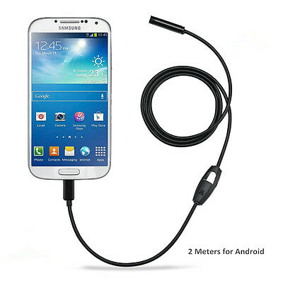 Micro USB Endoscope Waterproof  Inspection Camera for Android OTG Smart Phones