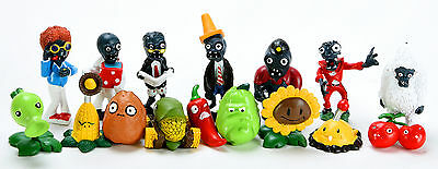 16x Plants Vs Zombies Toys Series Game Different Role Figure Toy PVC Display New