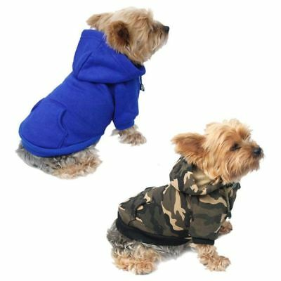 Cute Cat Puppy Apparel Clothes Dog Sweater Pullover Sweatshirt Coat Hoodie