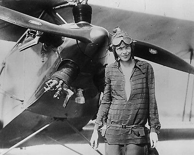 AMELIA EARHART 8x10 Celebrity Photo Picture 1