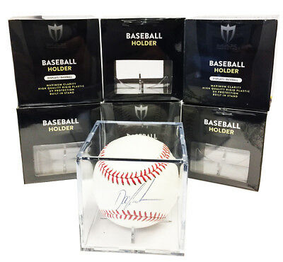 1 Max Pro Baseball Display Case Cubes 98 Archival UV Protection and Cradle
