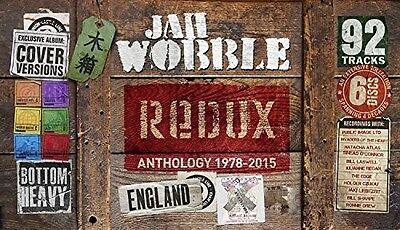 Jah Wobble - Redux Anthology 1978-15 New CD UK - Import