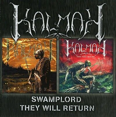 Kalmah - Swamplord  They Will Return New CD Holland - Import