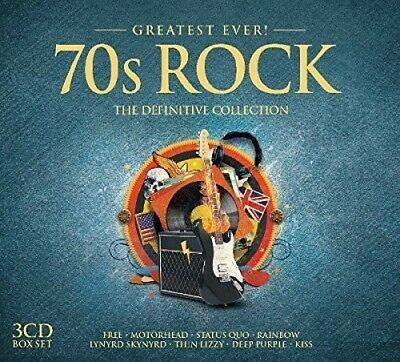 Various Artists - Greatest Ever 70S Rock New CD UK - Import