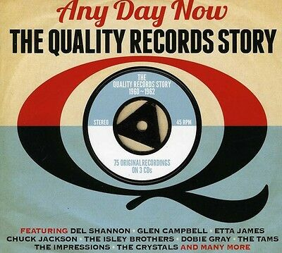 Various Artists - Any Day Now Quality Records Story  Various New CD