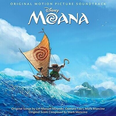 Moana  O-S-T- - Moana Original Soundtrack New CD