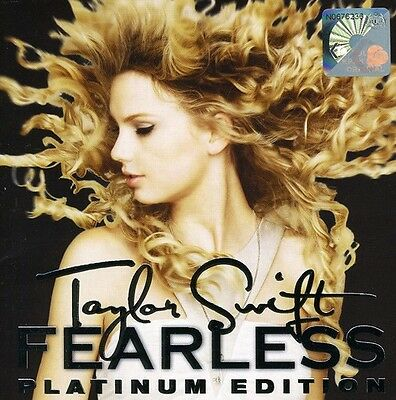 Taylor Swift - Fearless Platinum Edition New CD Holland - Import NTSC Format