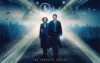 X-Files The Complete Series Blu-ray Disc 2016 57-Disc Set BRAND NEW