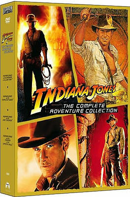 Indiana Jones - The Complete Adventure Collection DVD 2008 5-Disc Set