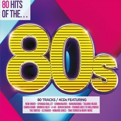 Various Artists - 80 Hits of the 80S New CD UK - Import