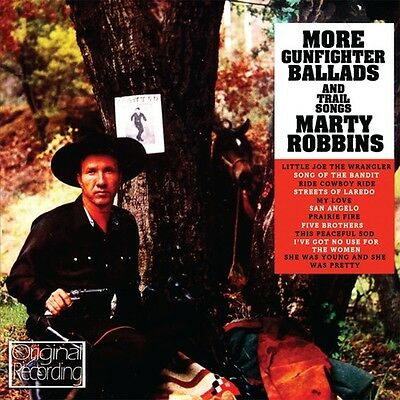 Marty Robbins - More Gunfighter Ballads - Trail Songs New CD