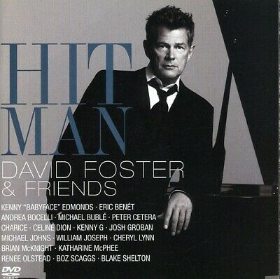 Various Artists - Hit Man David Foster - Friends  Various New CD With DVD
