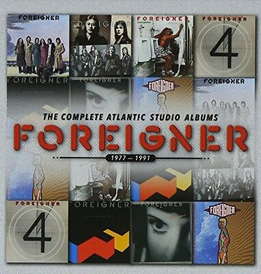 Foreigner - Complete Atlantic Albums 1977-1991 New CD