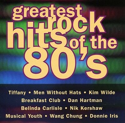Various Artists - Greatest Rock Hits of the 80s  Various New CD