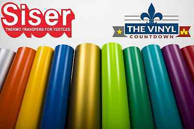 SISER EasyWeed Heat Transfer Vinyl 15 x 5ft HTV  5 Foot Roll  Free Shipping