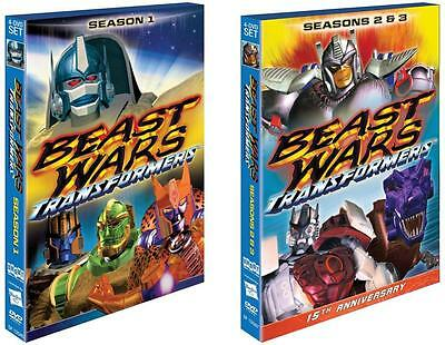 Beast Wars Transformers - The Complete Series 12-3 DVD 8-Disc set - New