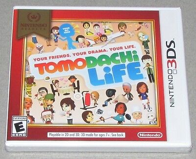 Tomodachi Life for Nintendo 3DS Brand New Factory Sealed