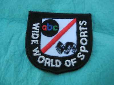 Vintage ABC Wide World Of Sports Patch 3 14 X 3