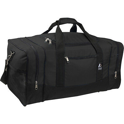 Everest 25 Sporty Gear Bag 8 Colors Travel Duffel NEW