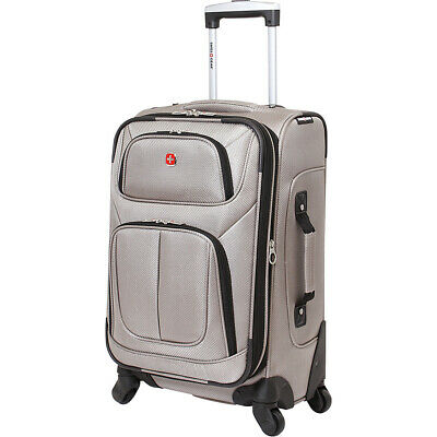 SwissGear Travel Gear 21 Spinner Carry-On Luggage Softside Carry-On NEW