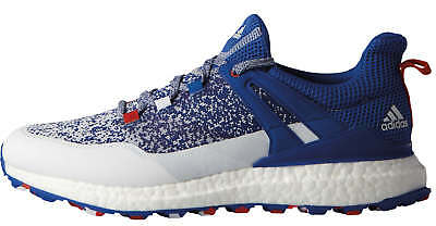 Adidas Crossknit Boost Golf Shoes DB1419 BlueWhiteRed USA Limited Mens New
