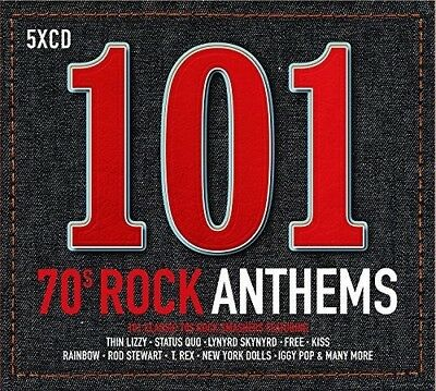 Various Artists - 101 70s Rock Anthems  Various New CD UK - Import
