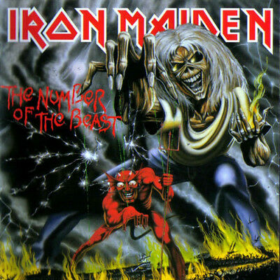 Iron Maiden - Number Of The Beast Vinyl New