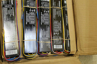 Lot of 10 OSRAM 4 Lamp Quicktronic 120-277V Electric Ballasts QHE4X32T8