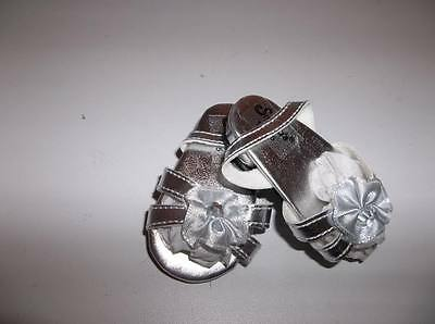 Silver Pony Heels Shoes made for 18 American Girl Dolls Doll Clothes New