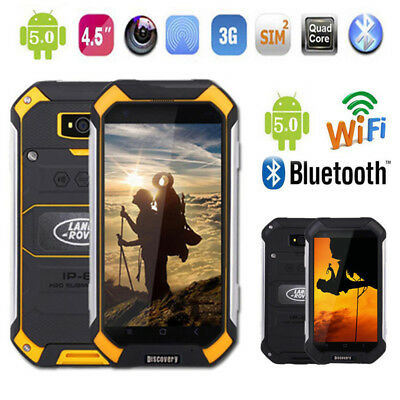 Discovery V19 Android 3G Smartphone Outdoor Rugged Waterproof Quad Core 4-5Inch