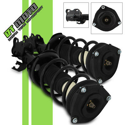 Left-Right2 Complete Front Strut - Coil Springs Assemblies For 2007-2012 Versa