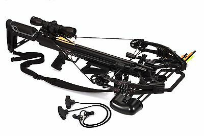 Bruin Ambush 410 Crossbow Package w Scope Bolts Quiver and Cocking Rope