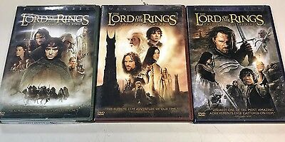 The Lord of the Rings The Motion Picture Trilogy Collection DVD 6-Disc set