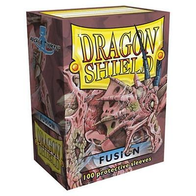 Dragon Shields Standard Size Card Protector Sleeves MTG Pokemon 100ct Fusion