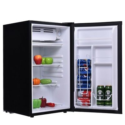 3-2 Cu-Ft- Mini Dorm Small Fridge Compact Refrigerator Cooler Office Party Beer