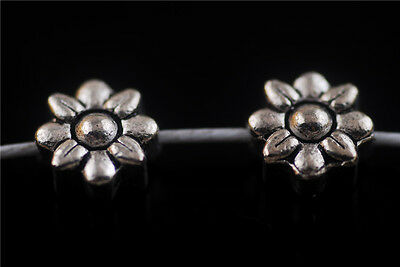 Wholesale Lots 5pcs Silver Metal Beads Spacer Craft Jewelry Finding 9mm Charms