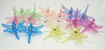 Dragonfly Clips for Orchids or plant spikes Pack of 500 Assorted Colors