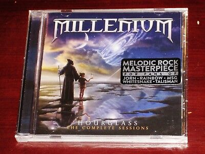 Millenium Hourglass - The Complete Sessions CD 2017 Divebomb Records USA NEW