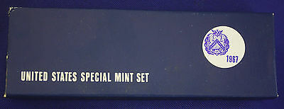 1967 special mint set- The PROOF SET for 1967- Original from us mint-