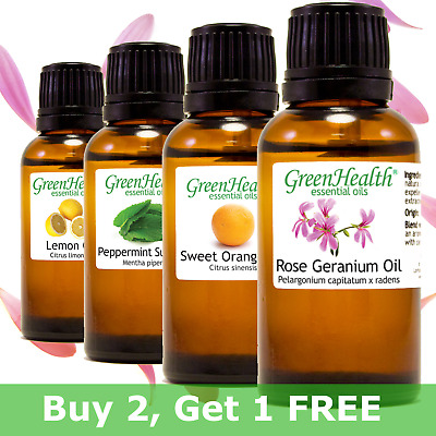 GreenHealth Brand Essential Oils 30ml 1 fl- - 100 Pure - All Natural
