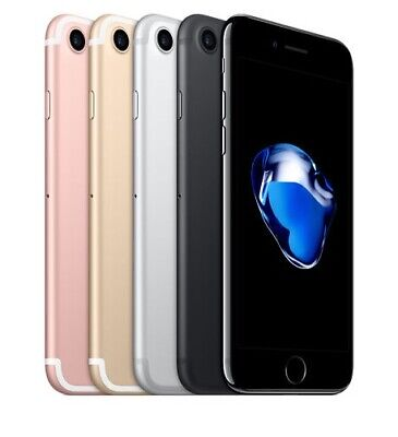 Apple iPhone 7 - 32GB 128GB 256GB GSM Factory Unlocked Smartphone All Colors