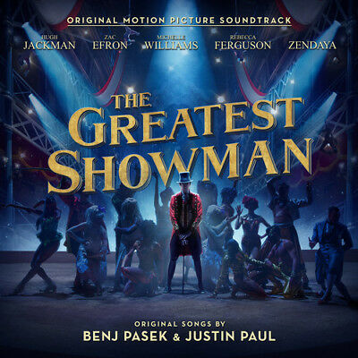 The Greatest Showman Original Motion Picture Soundtrack New CD