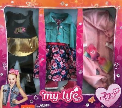 New JOJO SIWA MY LIFE AS  Day in the Life 3 Pc- CLOTHING SET For 18 JoJo Doll